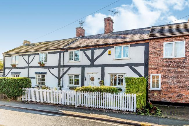 Our property of the week is a three-bedroom cottage in Middlewich