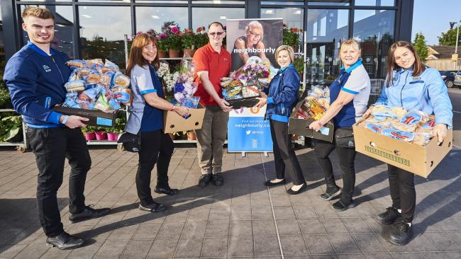 Aldi is inviting charities, community groups and food banks to register for surplus food on Christmas Eve