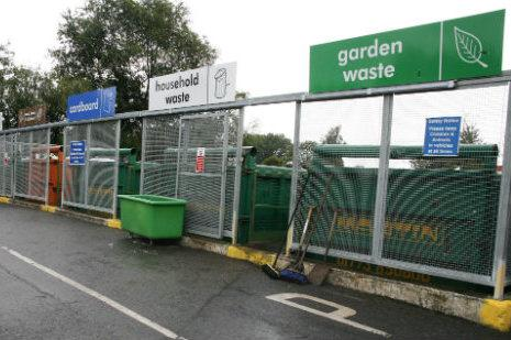 Middlewich's recycling centre could close, but no decision has been taken yet. Image: Cheshire East