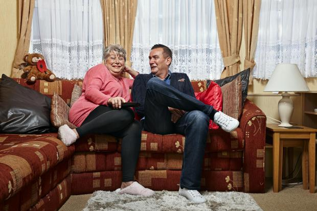Winsford Guardian: Jenny and Lee. Picture: Channel 4