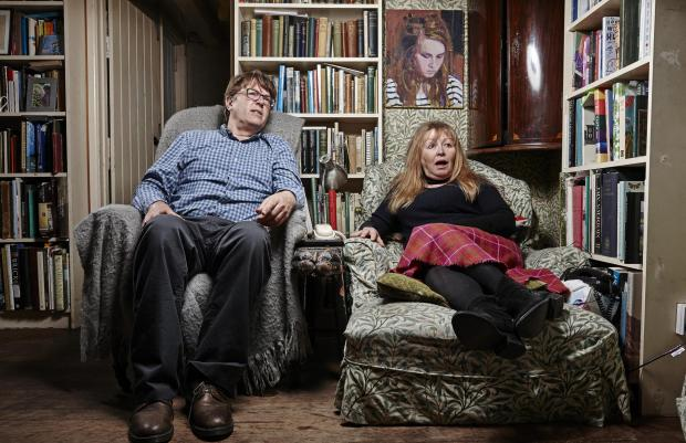 Winsford Guardian: Giles and Mary. Picture: Channel 4