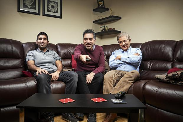 Winsford Guardian: The Siddiqui family. Picture: Channel 4