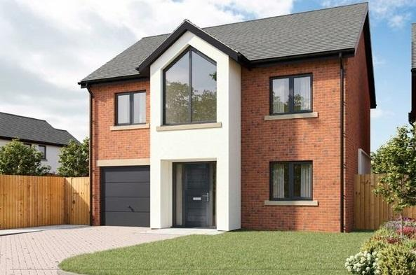 This newly built four-bedroom detached house on an exclusive development in Silver Birches, Croxton Lane, Middlewich is our property of the week Pictures: Zoopla