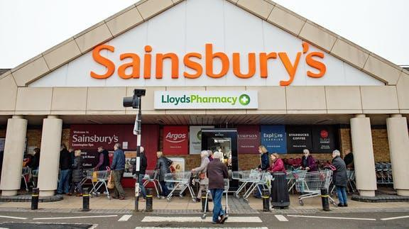 Winsford Guardian: Sainsbury's. (PA)