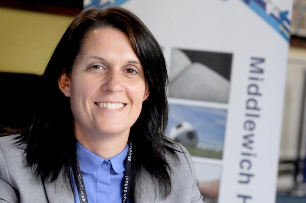 Heidi Thurland, headteacher of Middlewich High School, vows to ensure GCSE students achieve excellence despite exams being cancelled this summer