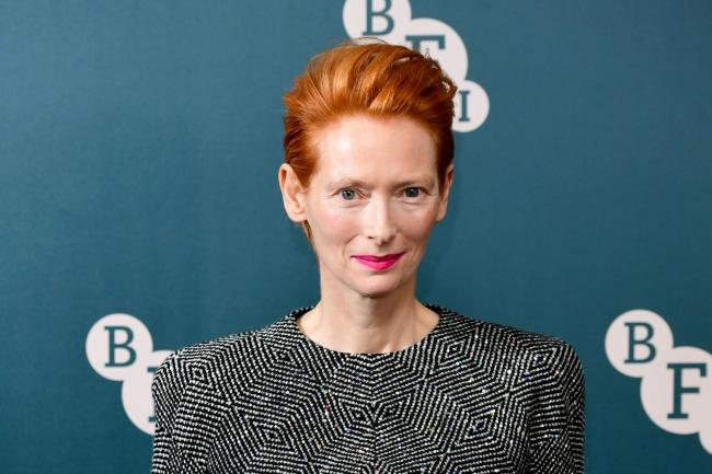 Tilda Swinton receives BFI Fellowship – London