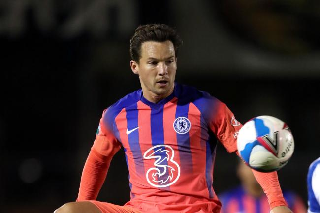 Danny Drinkwater in action for Chelsea's Under-21s earlier this season