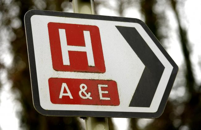 Non-urgent A&E visits cost a combined £2.5 million across the three NHS trusts. Image: PA
