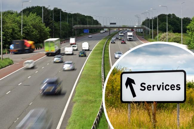 Library picture of M6 motorway. Image: Getty