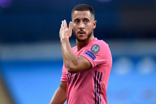 Eden Hazard, pictured, will be back on familiar ground when Real Madrid pitch up at Chelsea on Wednesday night