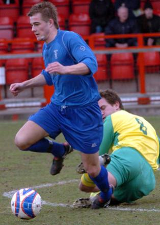 Josh Hancock, 19, is set to make the short move from Winsford United to Witton Albion this summer.