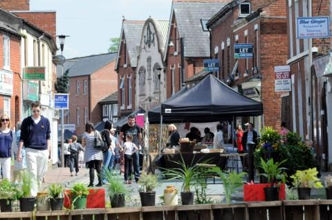 Food, drinks, crafts and music all on offer at 'new' town market