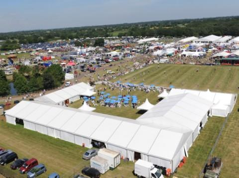 Dairy steps up to support Cheshire Show
