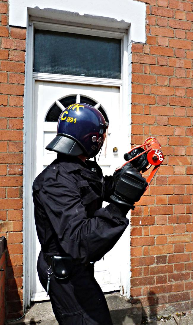 Weapons, cash and drugs seized and 34 arrests made in police crackdown