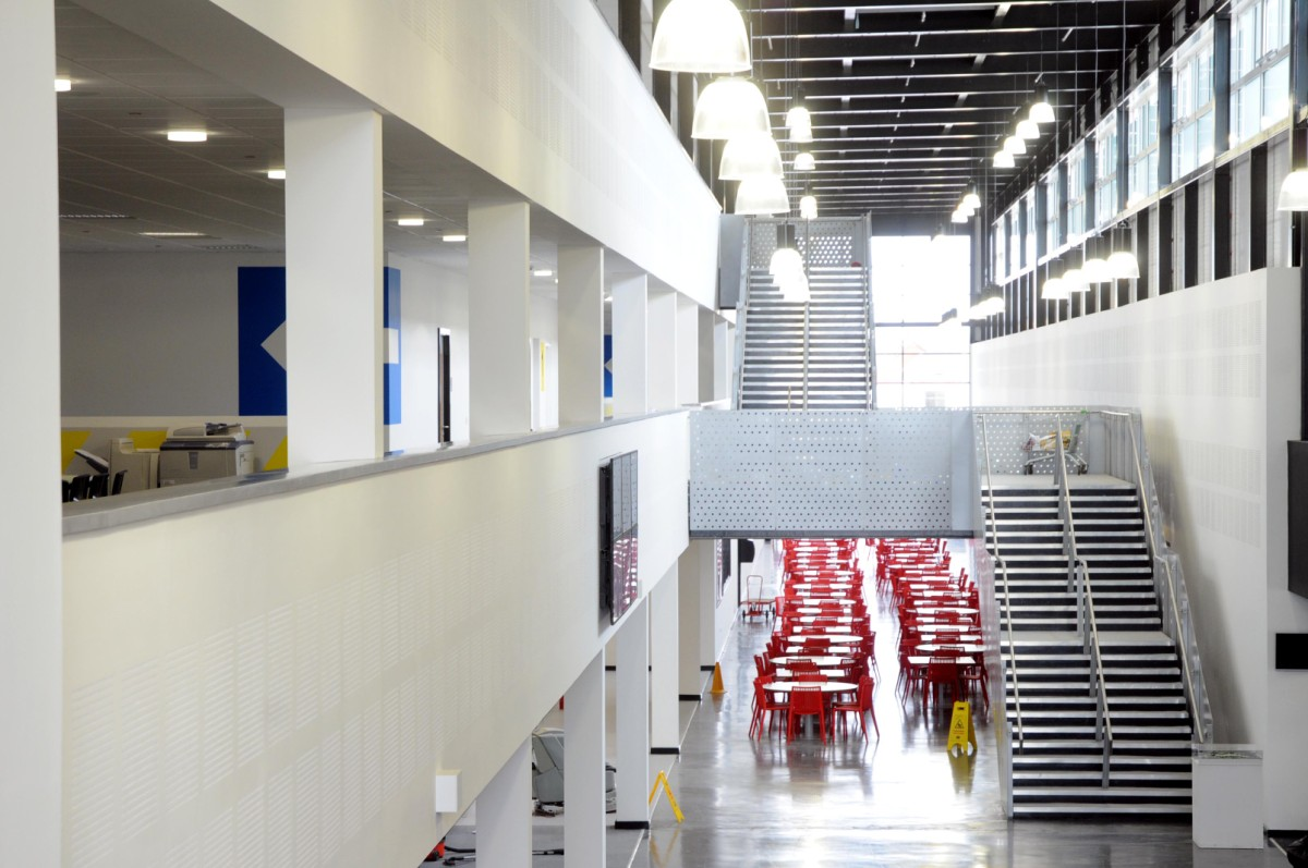 The Winsford E-ACT Academy's brand new £20 million school building opened last September.