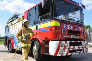Winsford fire HQ opens for Older People's day