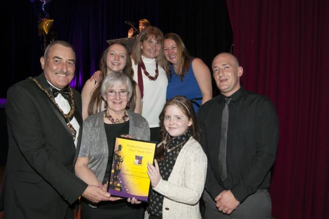 The CLAW Group will see their achievement set in stone on the Winsford Walk of Contribution after winning the overall award.