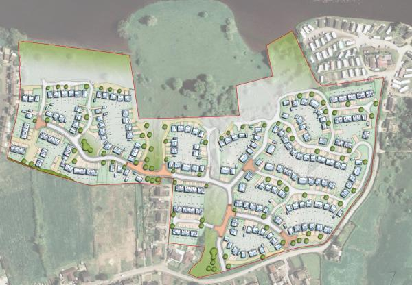 Bellway Homes plan to build 243 new houses on the