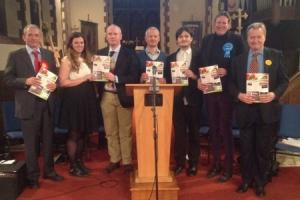 Parliamentary candidates grilled at Winsford hustings