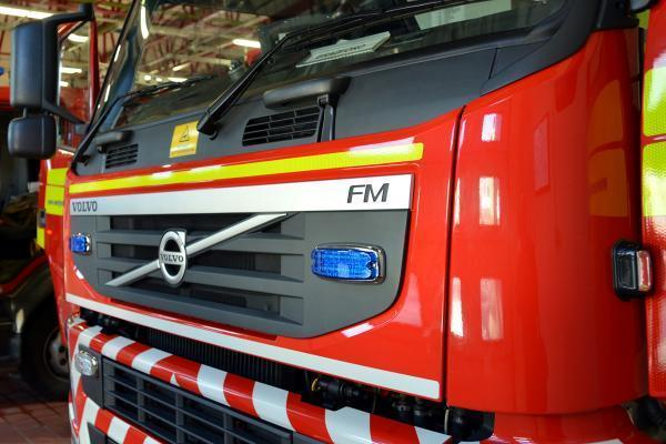 Firefighters called to extinguish campfire left unattended by leisure park