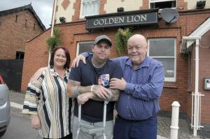 Winsford Guardian: Campaign launched to fund new leg for Winsford man. Click here to read more