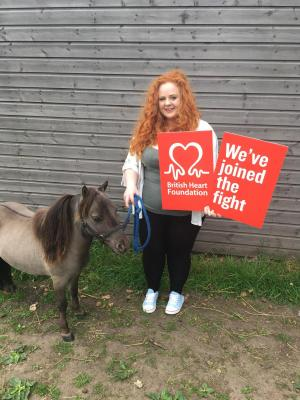 Winsford Guardian: Click here to find out why this woman has been named one of the British Heart Foundation's quirkiest fundraisers of the year