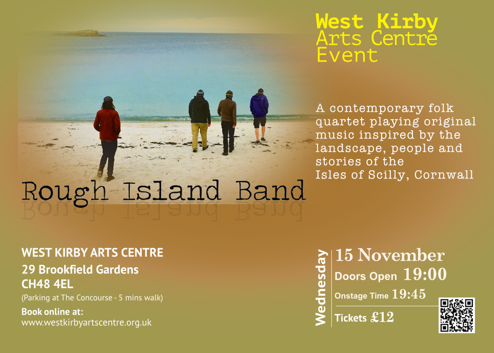 Rough Island Band at West Kirby Arts Centre