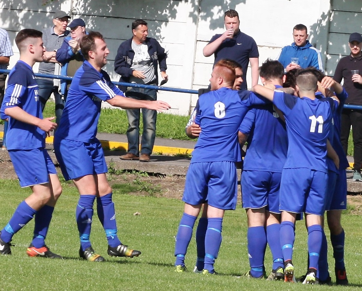 Winsford United's players hope to have something to celebrate when they visit City of Liverpool in the North West Counties League tomorrow