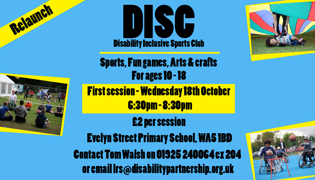 DISC Re-launch