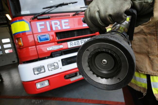 One fire engine attended the scene