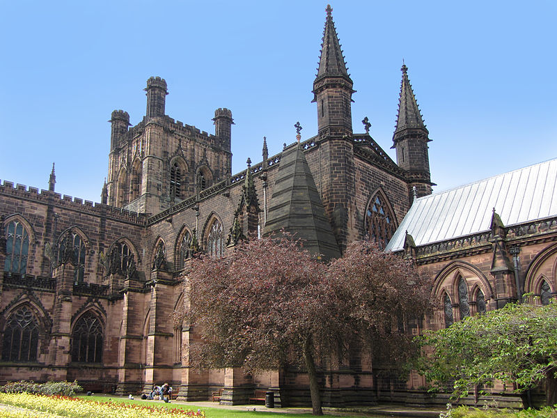 Chester Cathedral (image courtesy of Stephen Hamilton)
