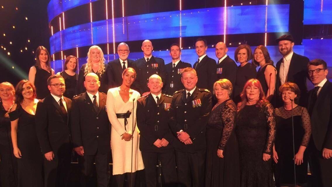 Cheshire Fire Choir with Leona Lewis