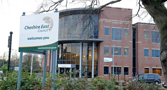 Cheshire East's offices
