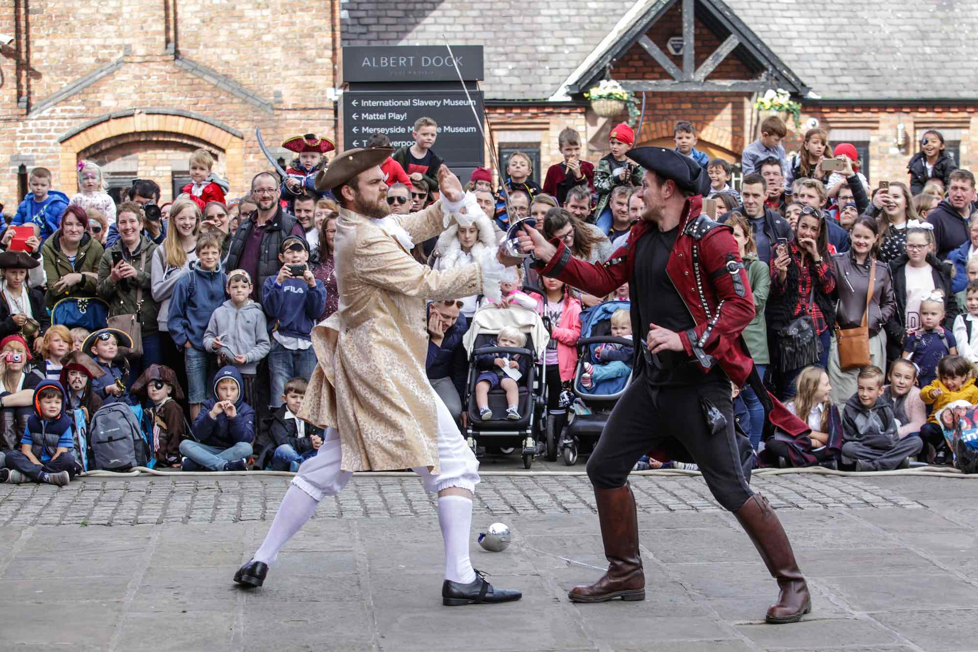 Albert Dock Liverpool launches 2018 event programme - Pirates On The Dock