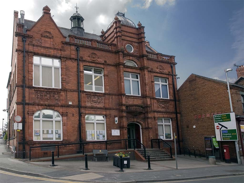 Victoria Buildings, in Middlewich
