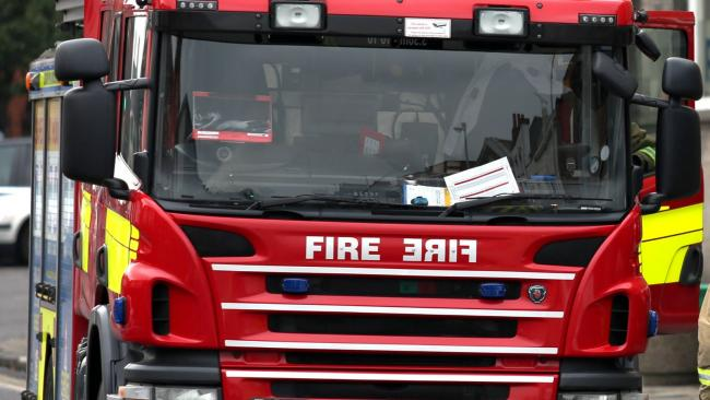 Firefighters release 90-year-old man trapped in Winsford as Storm Christoph hits