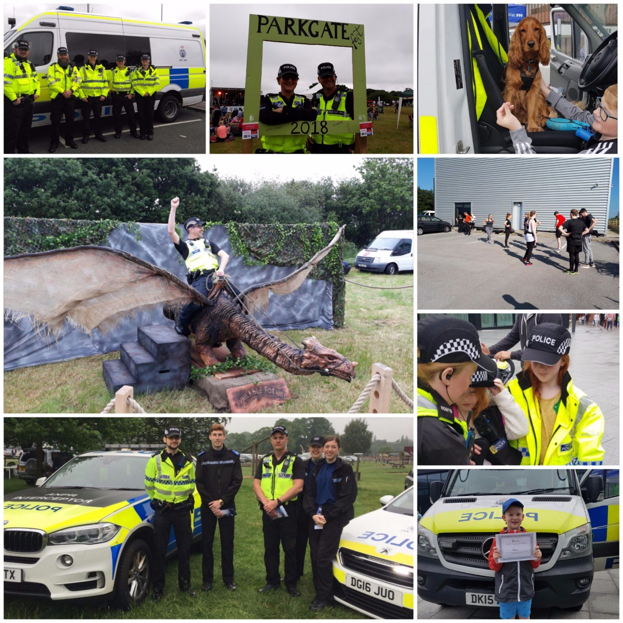 Special Constables took part in a range of activities across Cheshire as part of National Specials Weekend