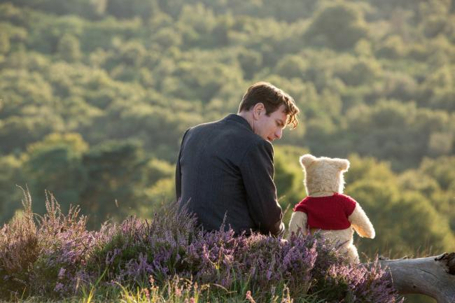 Ewan McGregor as Christopher Robin