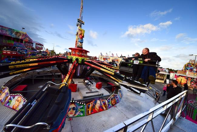 A funfair, local producers' market and events marquee are among the many attractions