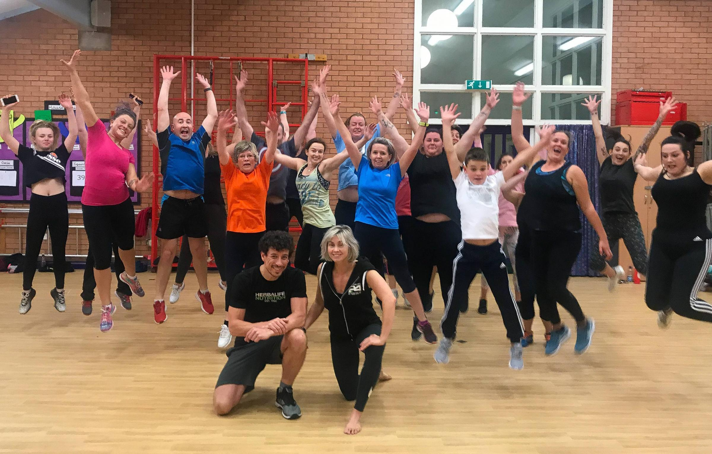 A new Fitclub at Oak View Academy has attracted generations of families to improve their health and fitness