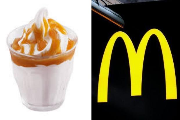 McDonald's AXE ice-cream sundaes with no warning ...and people aren't happy