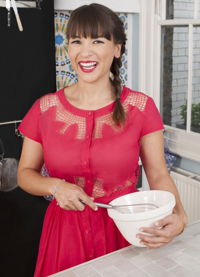 TV chef Rachel Khoo thinks there is nothing like the smell and taste of home backing