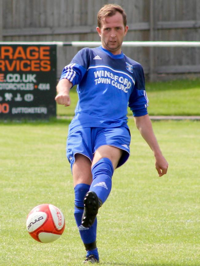 Winsford United's player-manager, Lee Duckworth