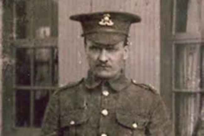 Sgt James Clarke, from Winsford received the Victoria Cross for his conspicuous bravery during an attack at Happergard in Flanders on November 2, 1918