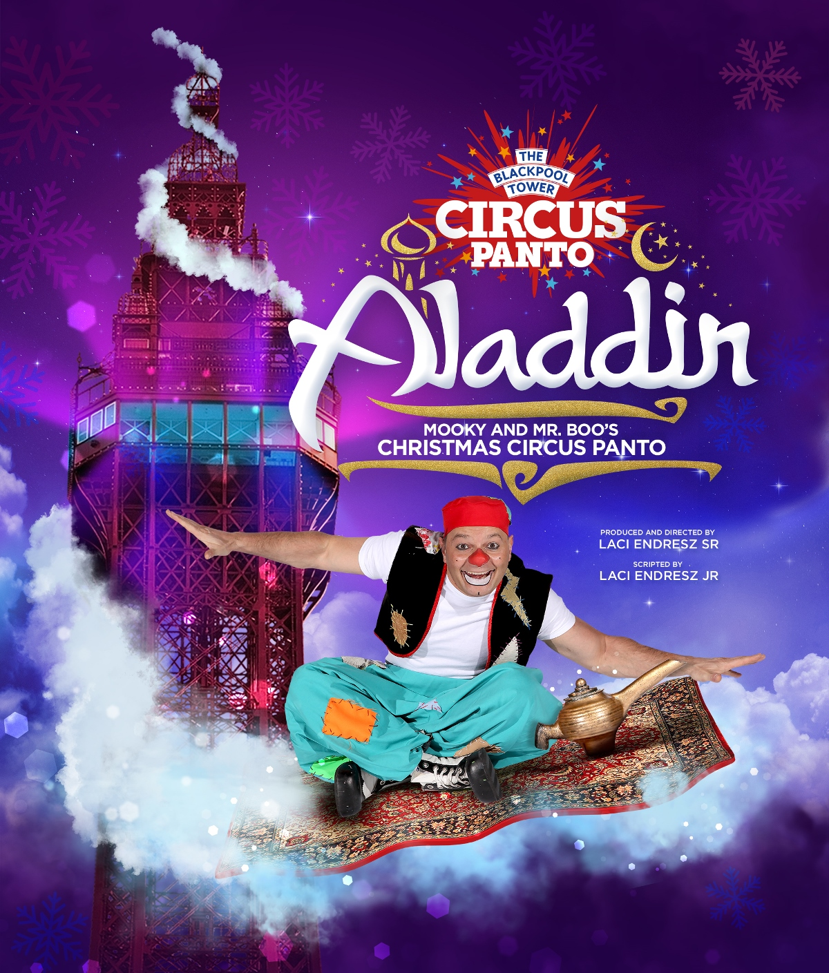 'Tis the Season for A Circus Panto at The Blackpool Tower