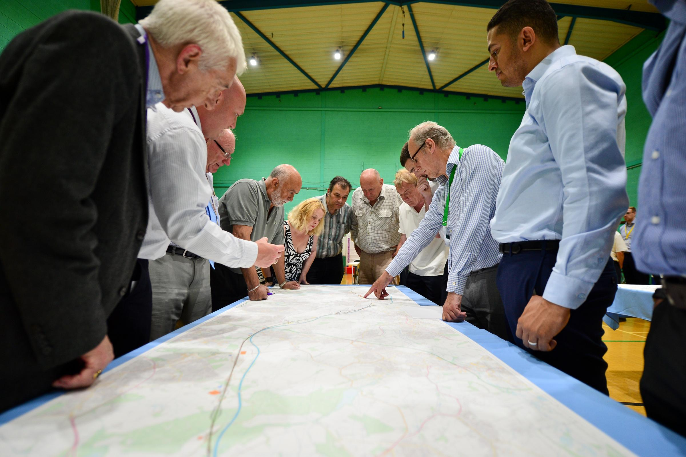 HS2 public information event comes to Middlewich