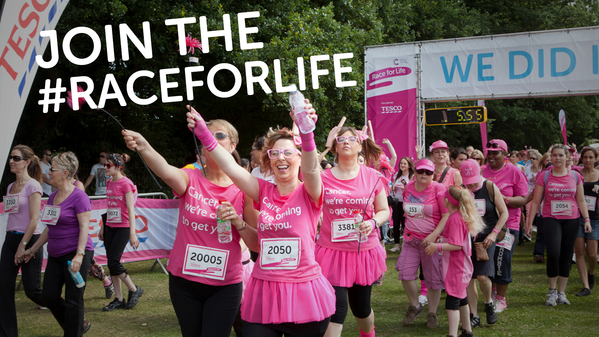 Cancer Research UK Race for Life 5k, 10k, Pretty Muddy & Pretty Muddy Kids