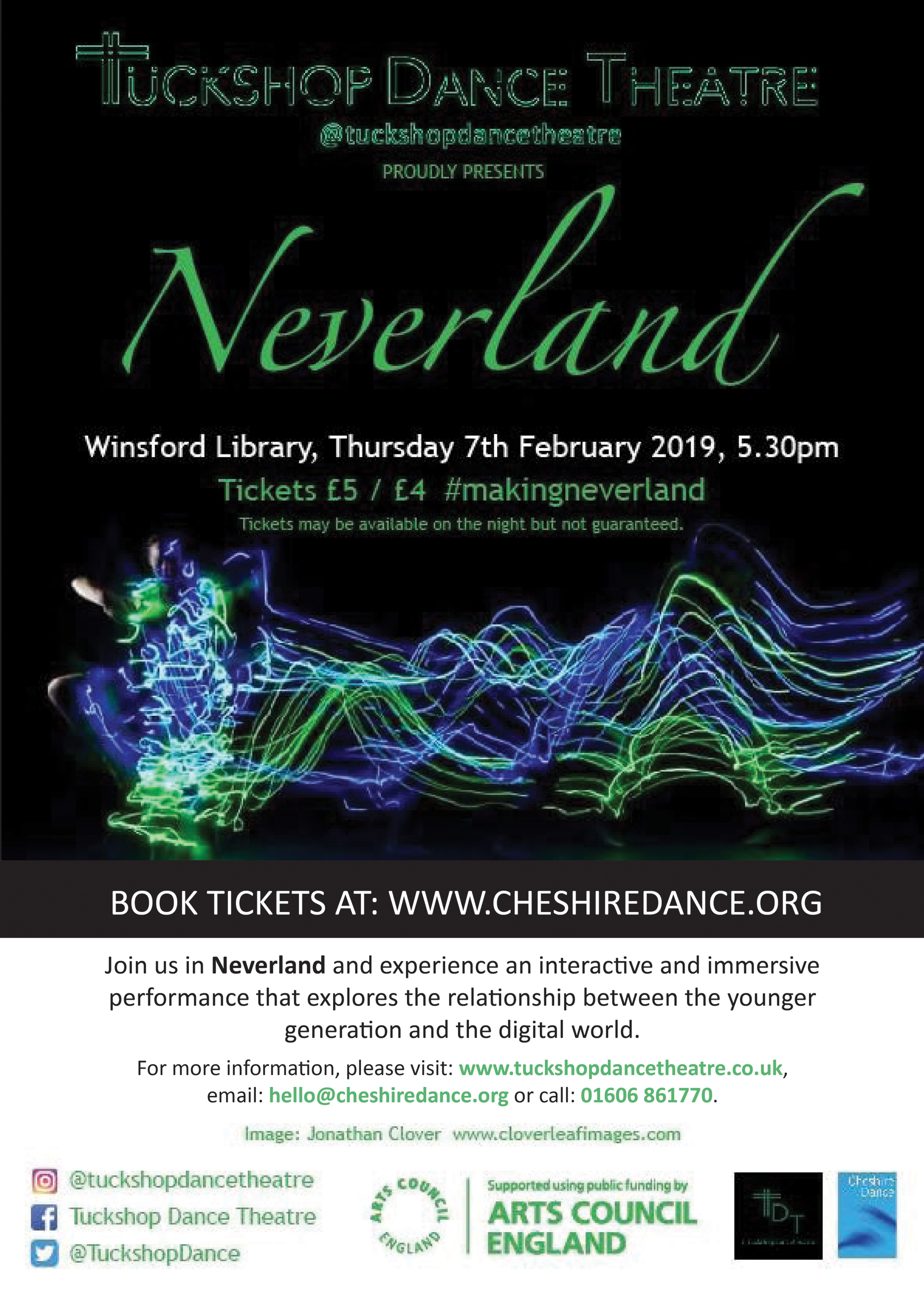 Neverland by Tuckshop Dance Theatre