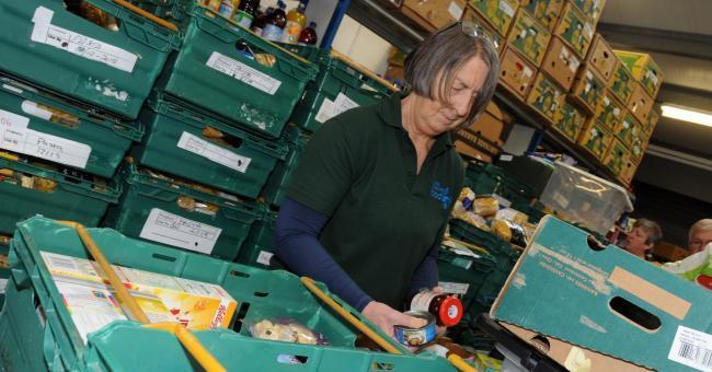 In the past week alone,  volunteers at Winsford foodbank fed 118 people, including 34 children