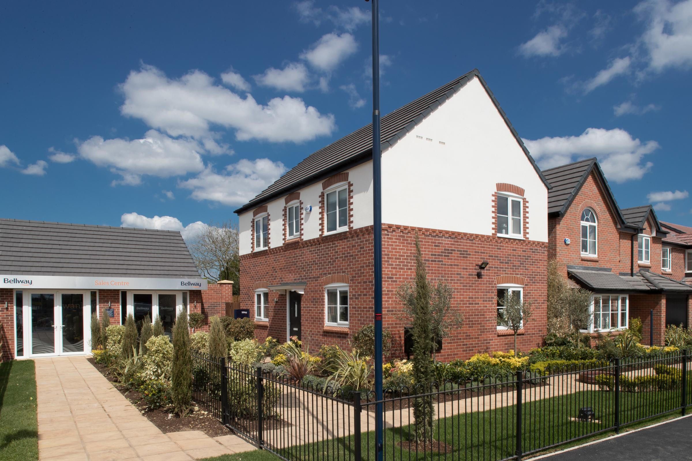 Bellway Homes has named a new housing development as Platts Meadow after Frank and Sandra Platt who owned and farmed the land for more than 50 years
